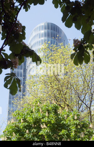 Office building GAP15 at the Graf Adolf Platz in Duesseldorf Germany - Stock Photo