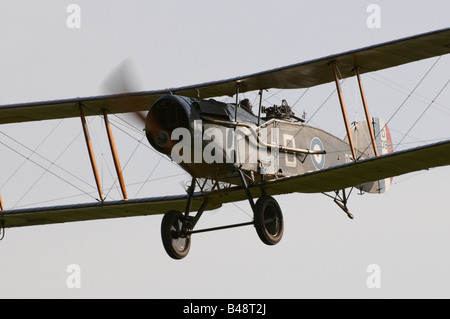 Shuttleworth (Collection) Air Show 2008 WW1 fighter Bristol Fighter F.2B - Stock Photo