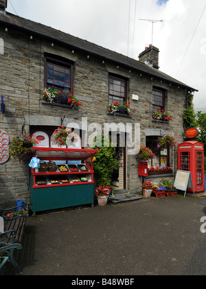 Quaint local post office and village shop at troutbeck in the lake stock photo royalty free - Great britain post office ...