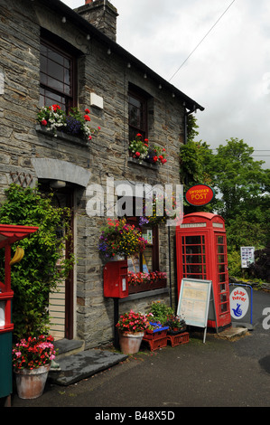 A rural post office in north wales great britain stock photo royalty free image 19864531 alamy - Great britain post office ...