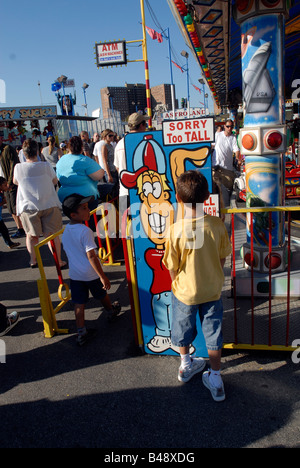 Sign Height Requirement At Amusement Park You Must Be This