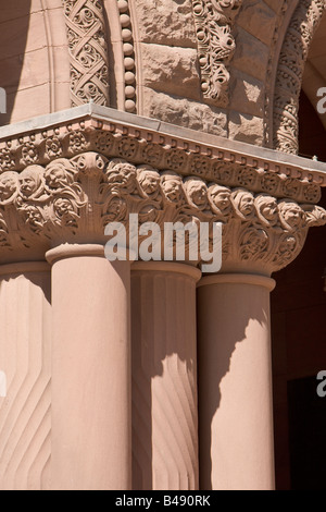Details of the Old City Hall building in downtown Toronto, Ontario, Canada. - Stock Photo