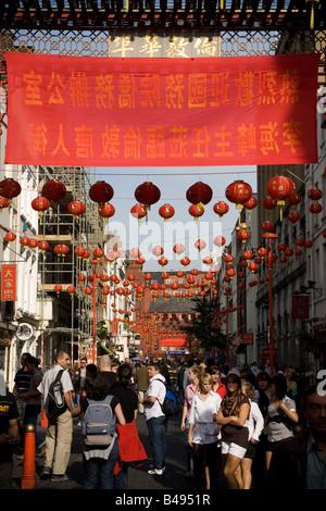 Chinese New Year decorations, Chinatown, Melaka. Malaysia ...
