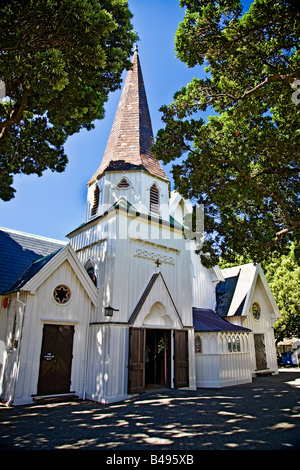 Old St Paul's Cathedral, Wellington, North Island, New Zealand - Stock Photo