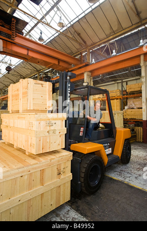 Forklift truck driver, UK