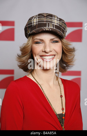 Mähl, Eva, * 1965, German TV presenter and actress, portrait, 2007, Additional-Rights-Clearances-NA - Stock Photo