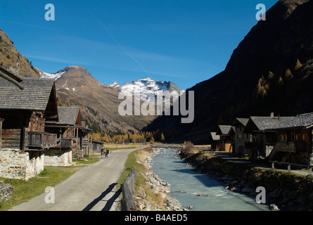 geography / travel, Austria, Tyrol, landscapes, Gschloesstal in Eastern Tyrol, Innergschloess, Additional-Rights - Stock Photo