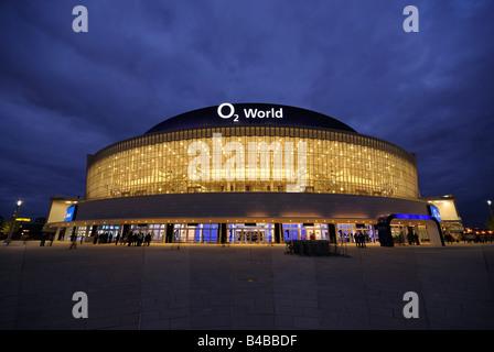 O2 World, O2 Arena of the Anschutz Entertainment Group, Berlin Friedrichshain, Germany, Europe. - Stock Photo