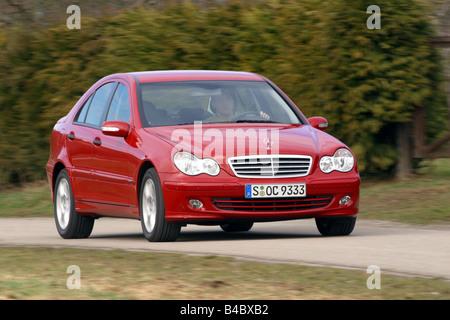 Car, Mercedes C 220 CDI, Limousine, medium class, model year 2004 Stock Photo - Alamy