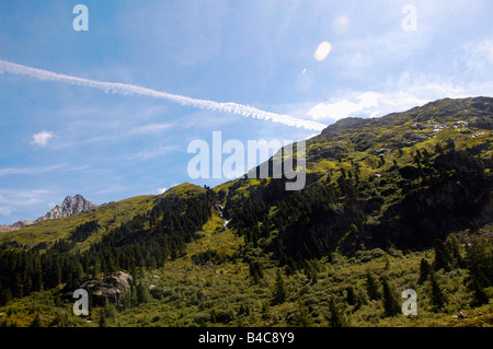 Austria Tyrol Landeck District Kaunertal valley - Stock Photo