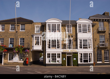 The Swan Hotel in Southwold,Suffolk,Uk - Stock Photo