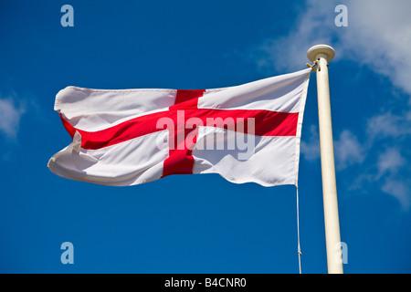 English Flag - Stock Photo
