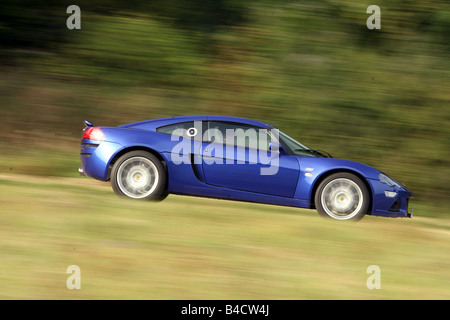 Lotus Europa S Model Year 2006 Blue Moving Side View Country