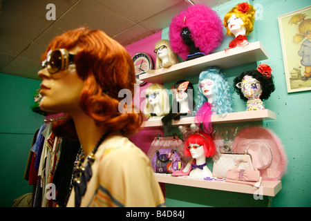 Aug 2008 - The Affleck s Palace fashion complex in the Northern Quarten Manchester England UK - Stock Photo