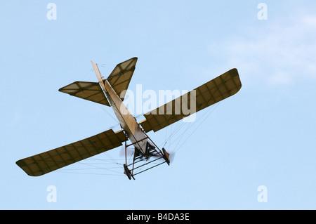 Shuttleworth (Collection) Air Show 2008 Blackburn Monoplane - Stock Photo
