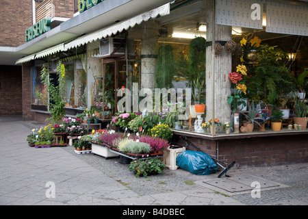 German florists Blumen - Stock Photo