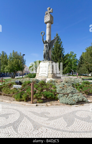 Memorial to the victims of the First World War (the Great War) in Portalegre city, Portugal. - Stock Photo