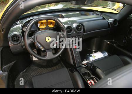 ... Car, Ferrari Enzo Ferrari, Roadster, Coupe, Model Year 2002 , Yellow