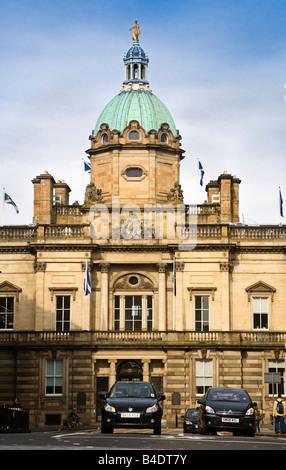 HBOS Headquarters on the Mound, Edinburgh, Scotland. - Stock Photo