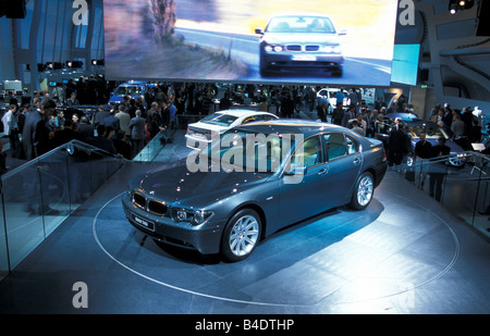 Car, IAA 1999, Frankfurt, Exhibition  BMW - Stock Photo