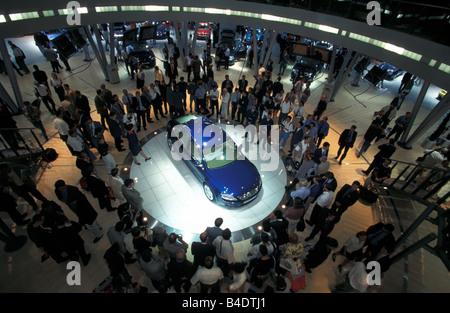 Car, IAA 1999, Frankfurt, Exhibition VW Volkswagen Volkswagen - Stock Photo