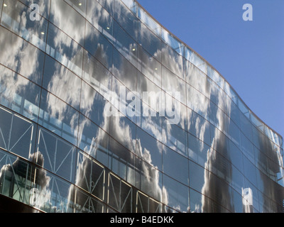 UK-The new King's Place arts centre near King's Cross,St.Pancras Eurostar International terminal. London Photo © - Stock Photo