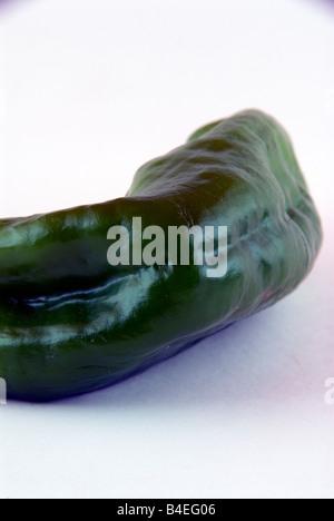 sweet pepper green - Stock Photo