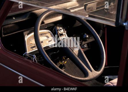Car, Citroen 2CV Charleston, sedan, model year 1980-1989 - Stock Photo