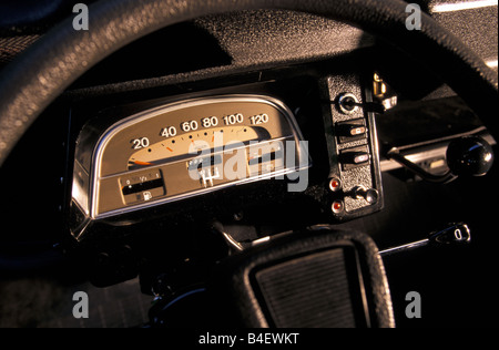 Car, Citroen 2CV Charleston, sedan, model year 1980-1989, - Stock Photo