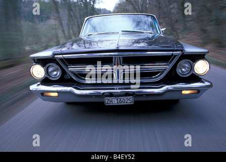 Car Chrysler Vintage Car Sedan Black Sixties