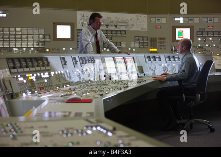 DEU Germany Essen GfS KSG Simulator centre for nuclear power plants - Stock Photo