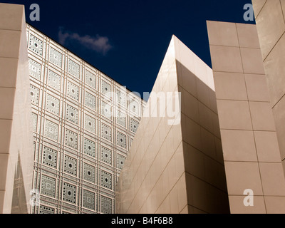 Institut du Monde Arabe in Paris France, Autumn 2008 - Stock Photo