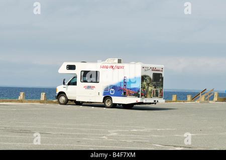 A Recreational Vehicle Rv Touring Camper Florida Usa Stock Photo 9891380 Alamy