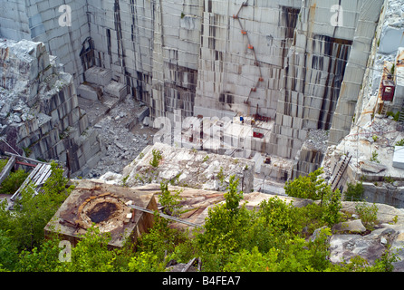 Rock of Ages Quarry in Barre Vermont - Stock Photo