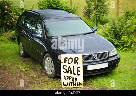 Used car for sale - Stock Photo
