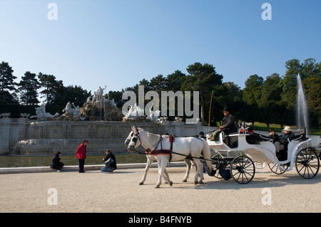 Palais de Schonbrunn Vienna Austria - Stock Photo