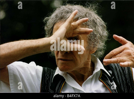 Marcel Marceau French Actor Mime artist DBase Mirrorpix - Stock Photo