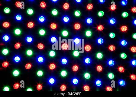 Multi colored lights - Stock Photo