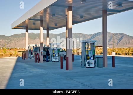 Biofuels Service Station. - Stock Photo