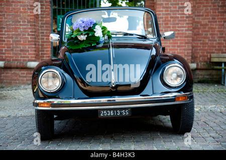 Volkswagen beetle 1303 cabrio VW1303 - Stock Photo