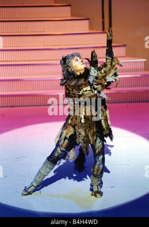 Elaine Paige Actress and Singer in Royal Variety Performance of Cats - Stock Photo