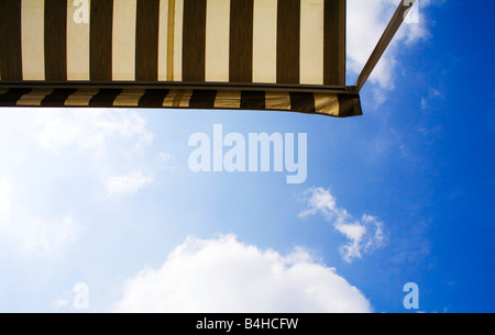 Low angle view of awning