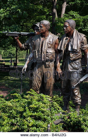 Vietnam Veterans Memorial Statues