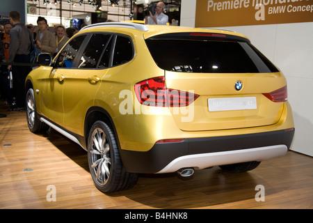BMW X1 Concept. On show at a Motor Show 2008. The Mondial de Stock ...