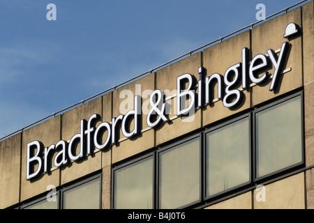 Bradford and Bingley head office - Stock Photo