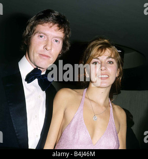 Michael Crawford Actor December 1972 With his wife at the Premiere of Alices Adventures in Wonderland Dbase MSI - Stock Photo