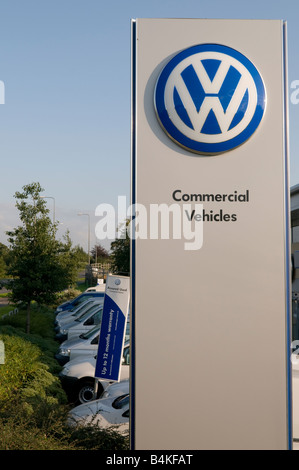 Vw volkswagen dealer dealership sign car sales car dealer for Franchise ad garage