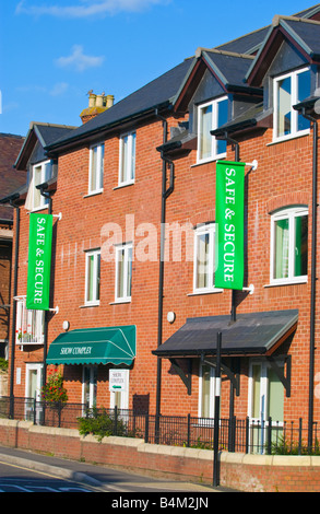 McCarthy and Stone retirement apartments for sale in Ludlow Shropshire England UK - Stock Photo