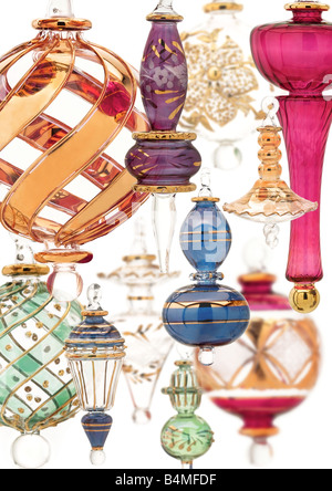 glass baubles - Stock Photo