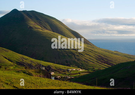 Rugged scenery on Porto Santo the neighbouring island to Madeira - Stock Photo